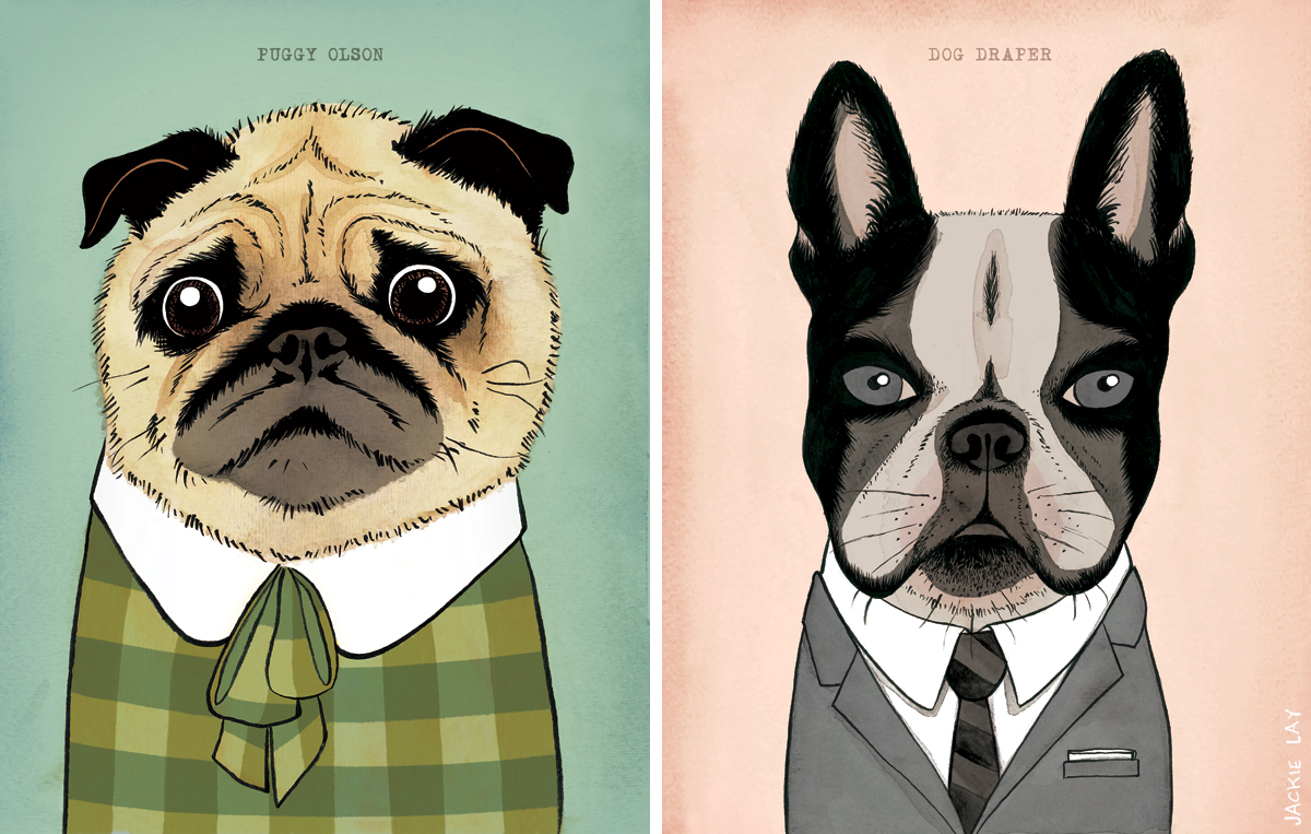 Mad Men Dogs